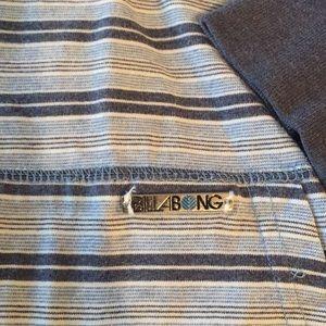 Billabong pullover. Men's small